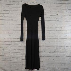 Zara Knit Long Maxi Sweater Dress Size Small